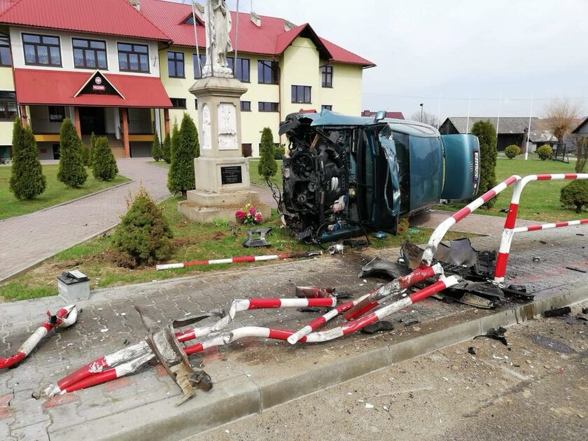 Miejsce wypadku