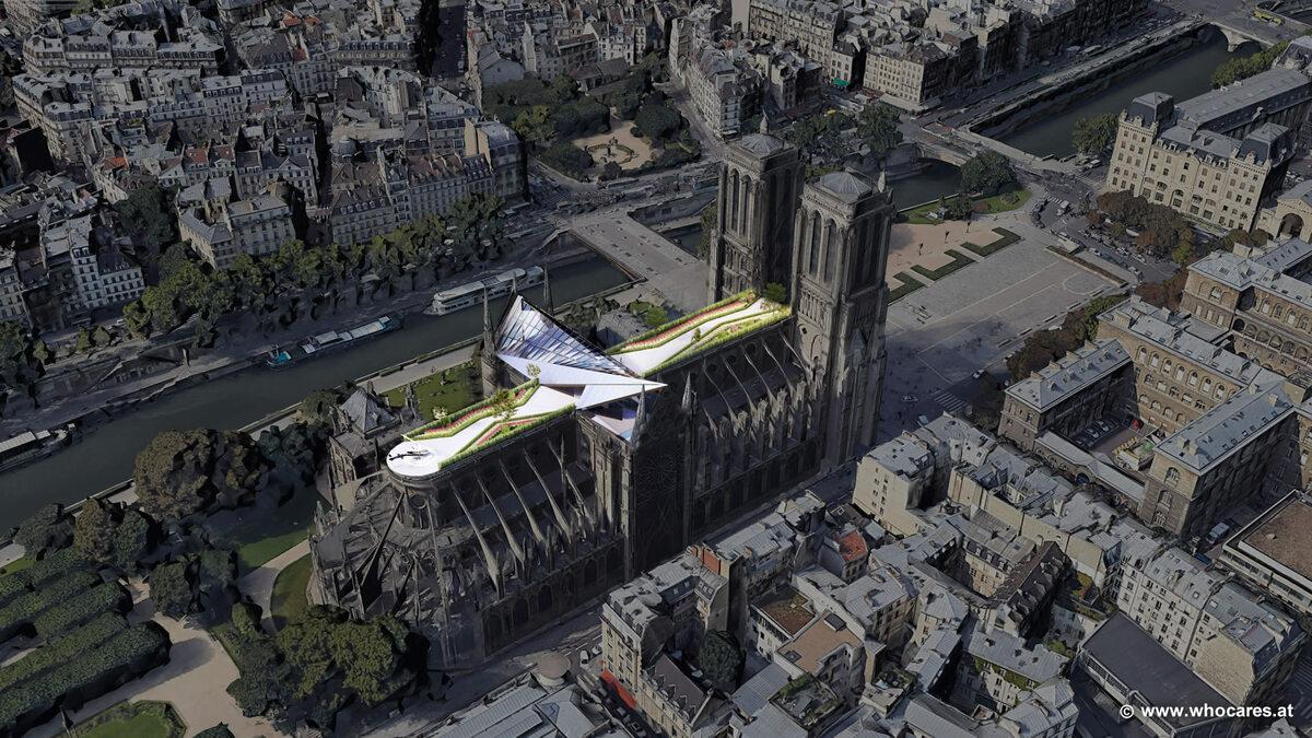 Notre-Dame jako penthaus dla dzwonnika Quasimodo