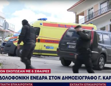 Grecki dziennikarz śledczy zastrzelony przed domem. Zabójcy odjechali...