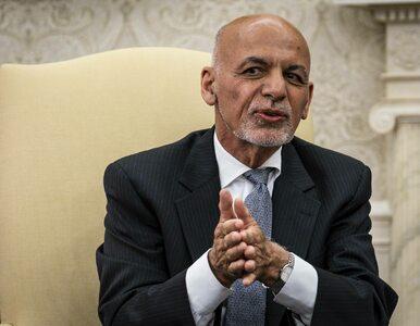 Prezydent Afganistanu uciekł ze 169 mln dolarów? Ghani komentuje