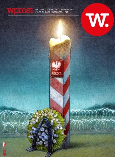 """Kryzys na granicy, Kaczyński kontra Ziobro, co zrobi Tusk. Nowy """"Wprost"""""""