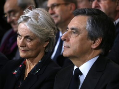 Żona kandydata na prezydenta Francji z zarzutami. Kolejne problemy Fillona