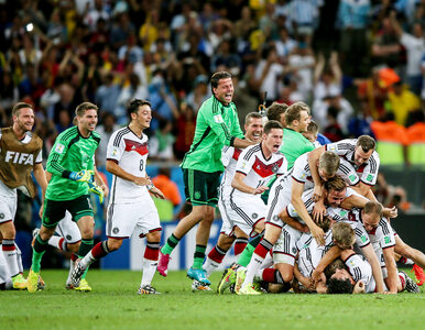 MŚ 2014: Niemcy mistrzami świata po raz czwarty! Zadecydował jeden gol