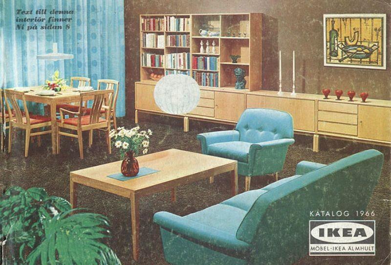 Okładka katalogu IKEA z 1966 roku