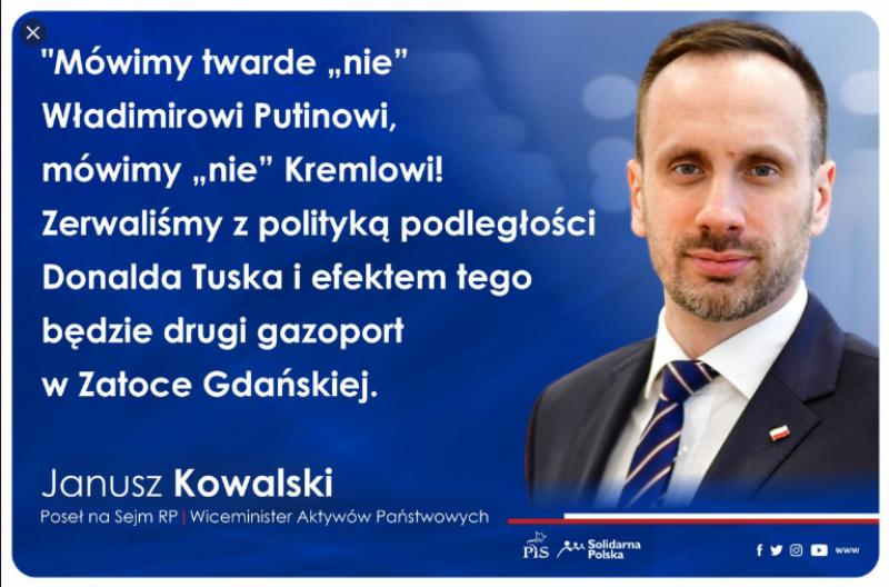 Czasami memami stawały się autentyczne wypowiedzi Janusza Kowalskiego