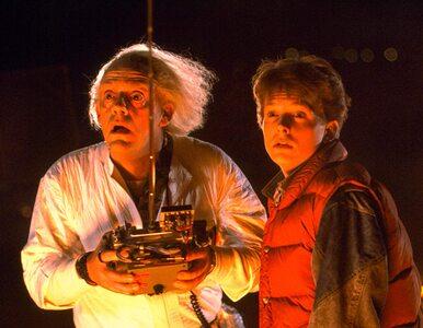 """""""Powrót do przyszłości"""". Filmowi Marty McFly i Emmett Brown znów razem...."""