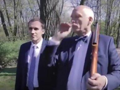 """Korwin-Mikke promuje się """"polowaniem na lewaka"""""""