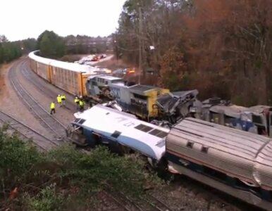 Zderzenie pociągów w USA. Co najmniej trzy osoby nie żyją, 70 rannych