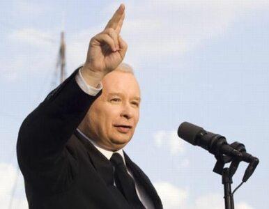 Kaczyński: w Polsce jest tylko jedna partia prawicowa. To PiS