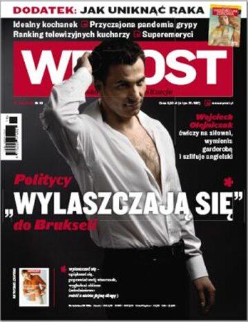 Okładka tygodnika Wprost nr 19/2009 (1374)