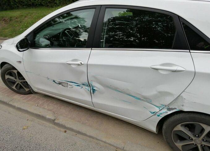 Kolizję spowodował 100-letni kierowca