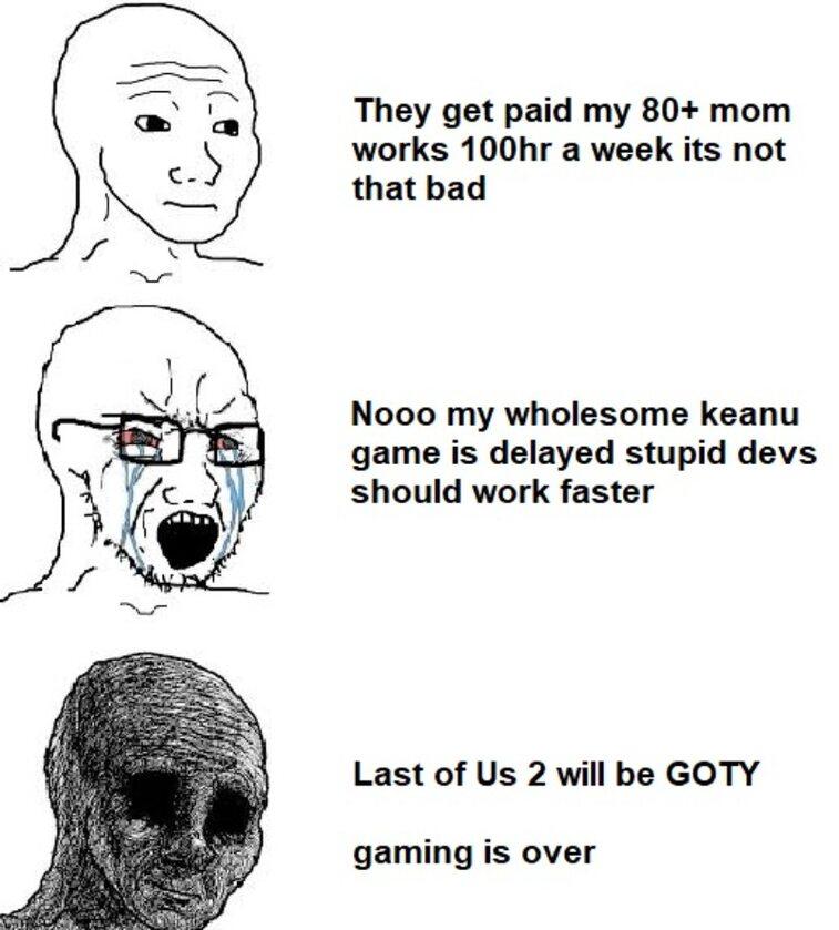 Mem po kolejnym przesunięciu premiery Cyberpunka 2077