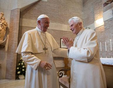 Spotkanie Franciszka z Benedyktem XVI. Papież senior ma problemy z...