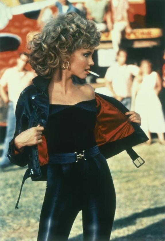 "Olivia Newton-John jako Sandy w filmie ""Grease"""