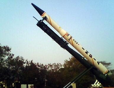 Indie: udany test rakiety balistycznej przenoszącej ładunki nuklearne