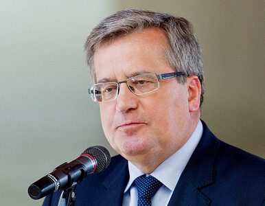Komorowski alarmuje: dzisiaj Polska jest na końcu Europy