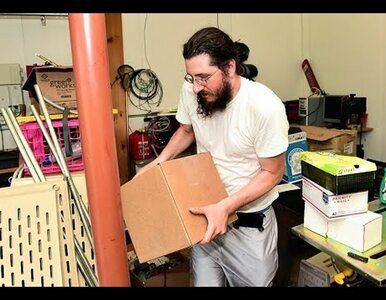 Tą sprawą żyją w USA. 30-letni Michael Rotondo eksmitowany z domu rodziców
