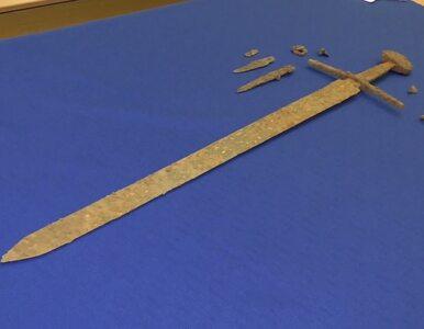 Odnaleziono miecz z bitwy pod Grunwaldem. Odkrycia dokonał pasjonat z...