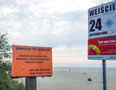 """Ekolodzy obawiają się """"niespodzianki"""" Senatu. Plaże będą płatne?"""
