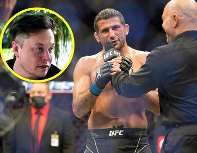 Zawodnik MMA wygrał walkę. Po starciu wspomniał o Elonie Musku i dostał...