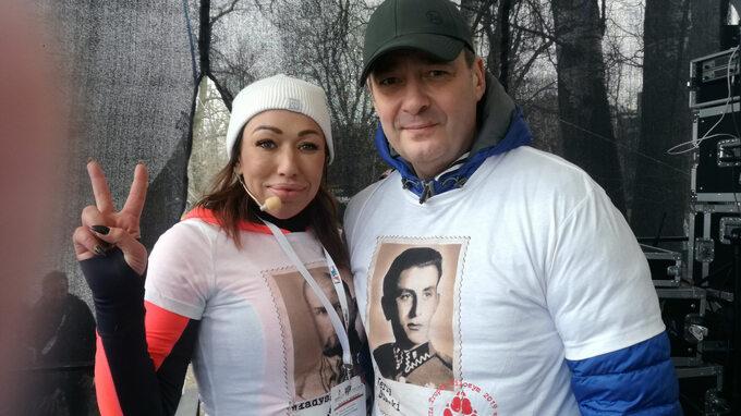Jacek Rozenek, wieloletni ambasador biegu Tropem Wilczym