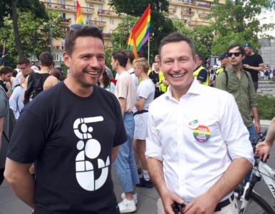 """""""Niedyskrecje parlamentarne"""": Trzaskowski od dawna narzekał na Rabieja...."""