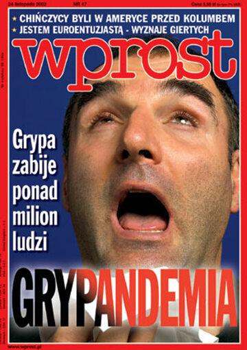 Okładka tygodnika Wprost nr 47/2002 (1043)
