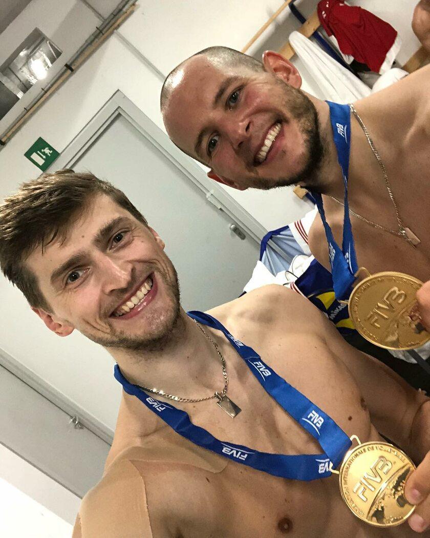 Piotr Nowakowski i Bartosz Kurek