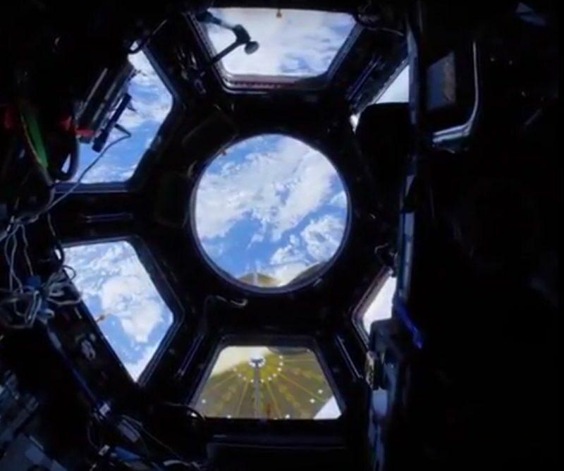 Zdjęcie wykonane z Międzynarodowej Stacji Kosmicznej. 541,418 polubień