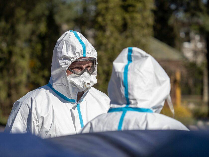 Walka z koronawirusem w Polsce