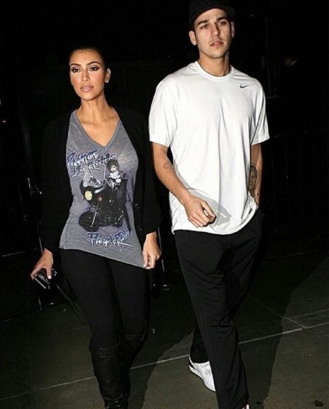 Rob Kardashian i Kim Kardashian