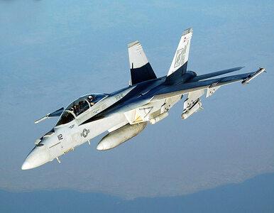 Katastrofa amerykańskiego myśliwca F/A-18 Hornet. Nie żyje pilot