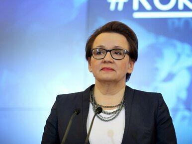 Nowe szczegóły dot. reformy edukacji. Zalewska mówi, co jeszcze zmieni...