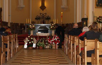 Pogrzeb Tamary Elżbiety Jakżynej