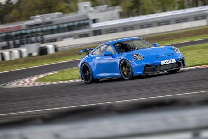 Porsche 911 GT3 natorze Silesia Ring