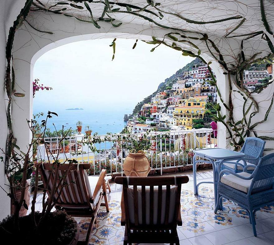 Hotel Le Sirenuse, wybrzeżę Amalfi, Włochy