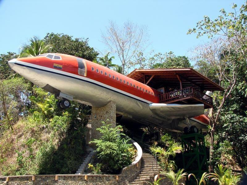 Hotel-samolot, Costa Rica, od 400$/noc