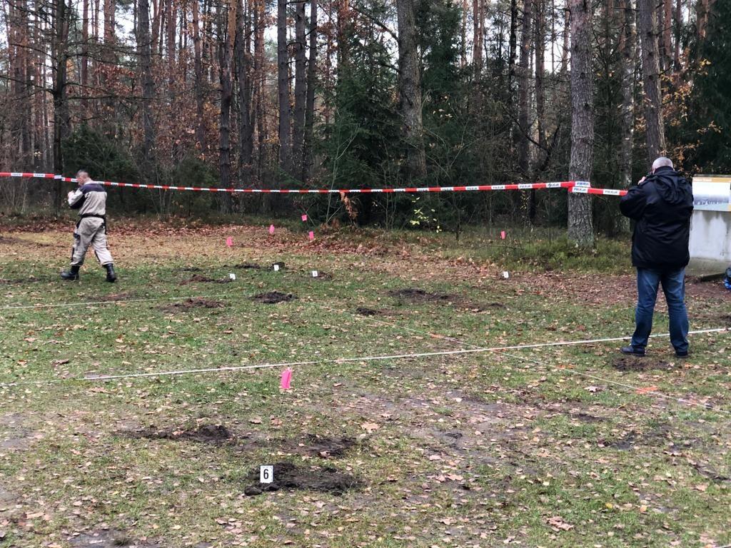 Nieznana mogiła ofiar niemieckiego obozu pracy Treblinka I