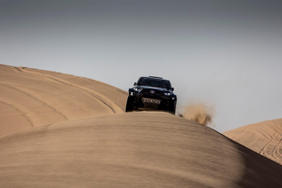 Toyota GR DKR Hilux T1+