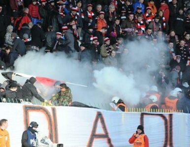 Polonia rozbiła Śląsk, na trybunach zamieszki i gaz