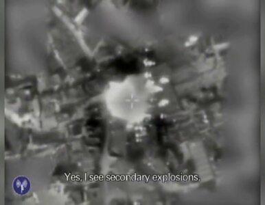 Atak izraelskiego lotnictwa na wyrzutnie rakiet Hamasu. Wojsko...
