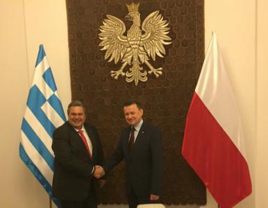 Polska i Grecja zacieśniają współpracę wojskową. Podpisano umowę