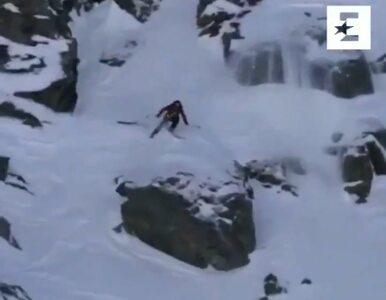 Przerażający upadek Jennie Symons podczas zawodów Winter Games. Spadała...