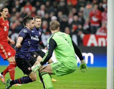LM: Bayern przegrał z Arsenalem, ale awansował do ćwierćfinałów