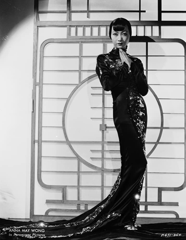 """Anna May Wong w filmie """"Limehouse Blues"""" (1934)"""