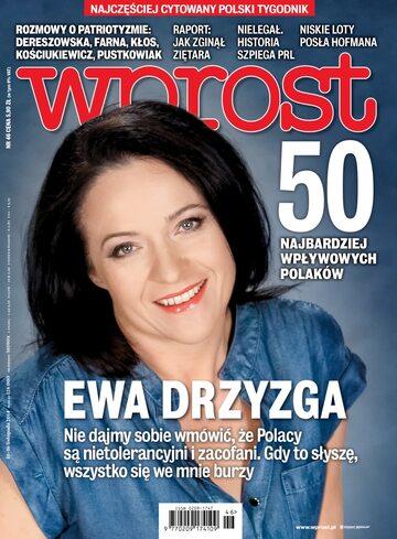 Okładka tygodnika Wprost nr 46/2014 (1654)