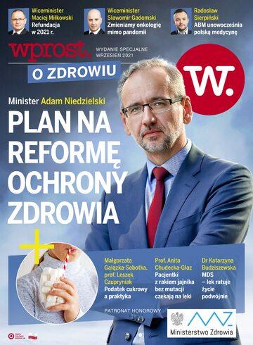 Okładka Dodatek Wprost – Wprost o Zdrowiu (2021 r.)
