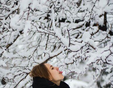 Lekarze przestrzegają przed jedzeniem śniegu: To niebezpieczne