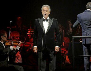 """""""Cud Życia"""". Andrea Bocelli zaśpiewa na koncercie wielkanocnym. Gdzie..."""