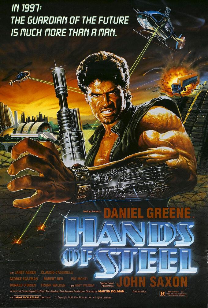 Paco -Maszyna śmierci / Hands ofSteel (1986)